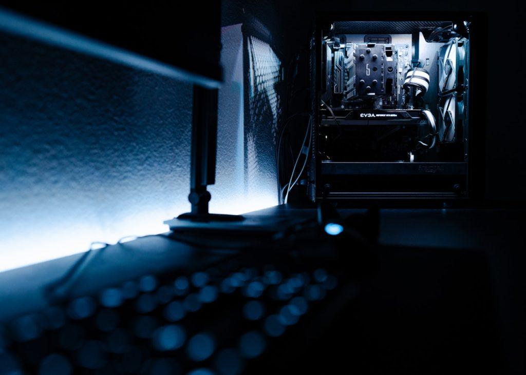 wyłączony komputer